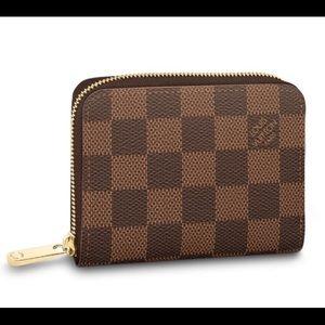 Louis Vuitton zippy coin purse damier ebene